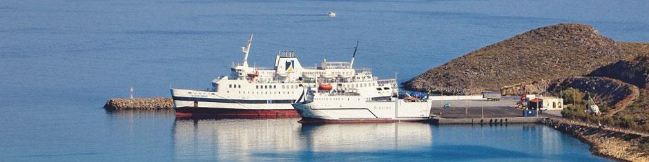 Hafen von Diakofti, Insel Kythira