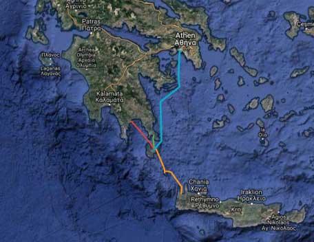 Fähren nach Kythira