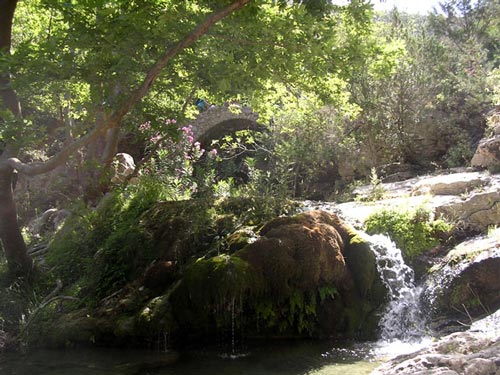 Tal der Wassermühlen | Mylopotamos